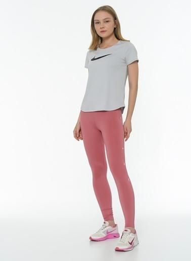 Nike Nike CU5066614 W One Tıght 7/8 Nk Grx Desert Berry Pink Foam TShirt Pembe